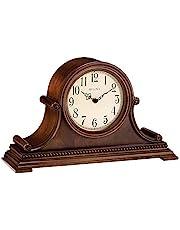 Bulova B1514 Asheville Mantel Clock Brown Cherry