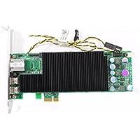 Teradici TERA2220 Chip PCI-E 3.0 X1 ONE Lan RJ-45 Port TWO Mini Display ports Remote Access Host Card 0YT6G