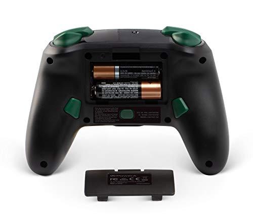 PowerA Enhanced Wireless Controller for Nintendo Switch - Link Silhouette