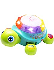 Musical Turtle Toy, English & Spanish Learning, Electronic Toys W/Lights and Sounds, Early Educational Development Gift 6 7 8 9 10 11 12 Months, 1, 2 Year Olds Baby Infants Toddlers Boys Girls