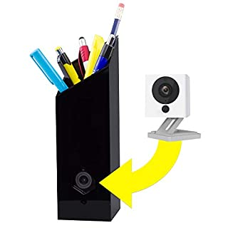 Pencil CASE for Wyze Cam! Make Your Wyze Cam More Discreet and Beautiful with This Camera Housing That Doubles as a Pencil Holder (Fits Wyze Cam and Wyze Cam v2, Does NOT Fit Wyze Cam Pan)