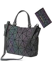 Geometric Luminous Purses and Handbags Shard Lattice...