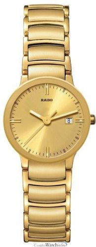 Rado Centrix Gold-Tone Ladies Watch R30528253