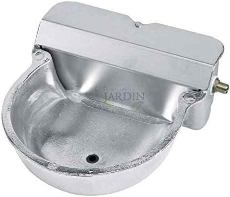 Suinga Bebedero AUTOMATICO para Caballos. Tamaño 27x33x15 cm. Fabricado en Aluminio y Acero Inoxidable