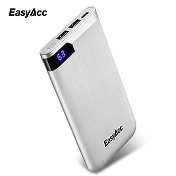 Easyacc Batería Externa Cargador Portátil 5000mAh 10000mAh ...