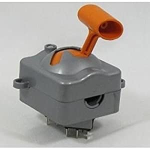NEW-OEM-Power-Wheels-Jeep-Hurricane-J4394-Replacement-Gear-Shifter-Assembly
