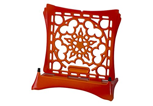Le Creuset Signature Cast Iron Cookbook Stand, Flame by Le Creuset (Image #1)