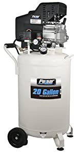 Pulsar PCE6200 Vertical Electrical Air Compressor, 20-Gallon