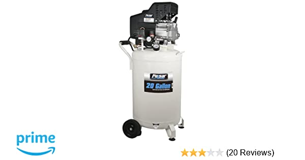 Pulsar PCE6200 Vertical Electrical Air Compressor, 20-Gallon - Air Compressor Accessories - Amazon.com