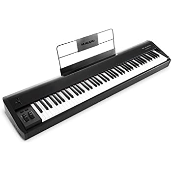 m audio keystation 88es 88 key usb midi keyboard controller with semi weighted keys. Black Bedroom Furniture Sets. Home Design Ideas