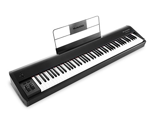M-Audio Hammer 88 | 88-Key Hammer-Action USB MIDI Keyboard Controller by M-Audio