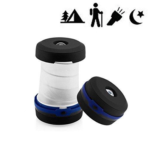 Best-Sun Best Gift LED Camping Lantern Hand Crank Mini Flashlight Emergency Torch Light Tent Lamp for Camping Hiking Jogging(Blue) (Blue) (Mini Crank Flashlight)