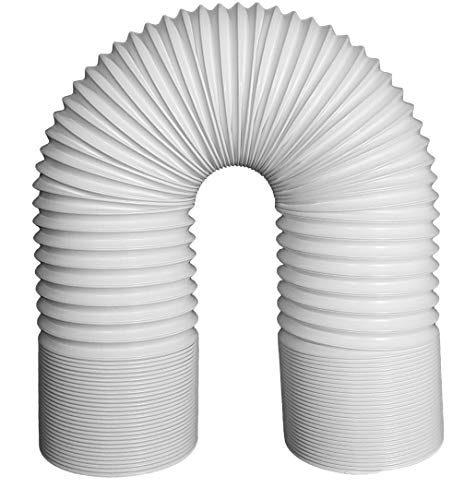 Svenson Air Conditioner Exhaust Hose 5 Inch Diameter Counterclockwise Steel Reinforced (59 Inch - Hose Exhaust Reinforced