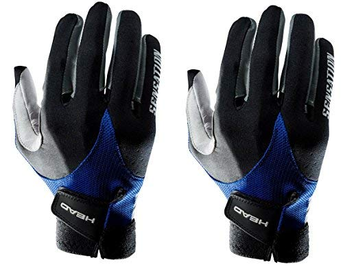HEAD Two Sensation Racquetball Glove Right Large (Two Pack)