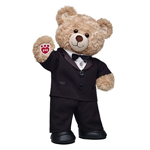 Build A Bear Workshop Happy Hugs Teddy Bear Groom Gift Set