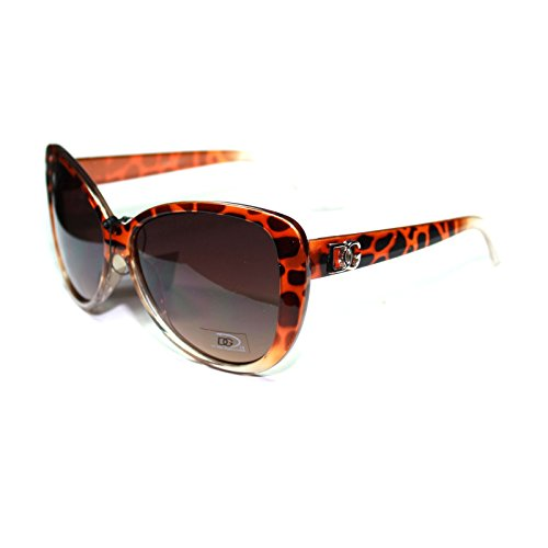 #DG235-S4 DG Eyewear Sexy Animal Print Cat Eyes Women's Sunglasses - Factory - Lady Gaga Eye Sunglasses Cat