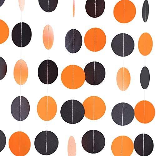Bobee Black Orange Garland Decoration