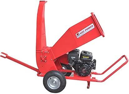 HZC Power Motor de gasolina gasolina madera trituradora de jardín trituradora de madera trituradora de madera SR60: Amazon.es: Bricolaje y herramientas