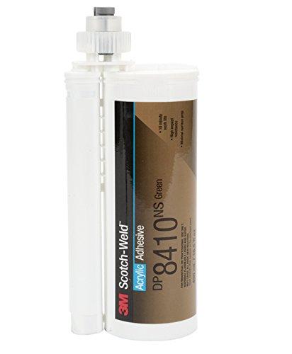 3M Scotch-Weld Green Acrylic Adhesive, DP8410NS, 45 mL