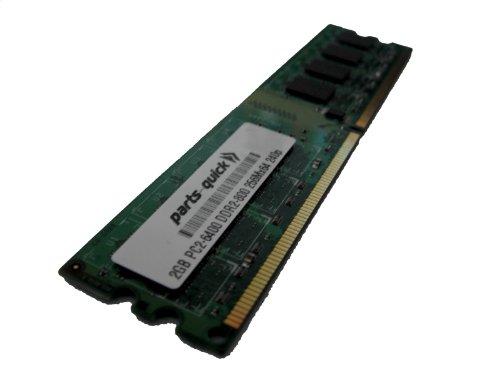 457624-001 2GB DDR2 Memory PC2-6400 240 pin 800MHz NON-ECC DIMM RAM for HP Compaq Pavilion, Pavillion Elite, Pavilion Media Center, Pavilion Media Center TV, Pavilion Slimline, Presario, Business Desktop (PARTS-QUICK BRAND)