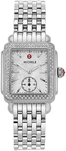 Michele Deco Mid Diamond Women's Watch - MWW06V000001