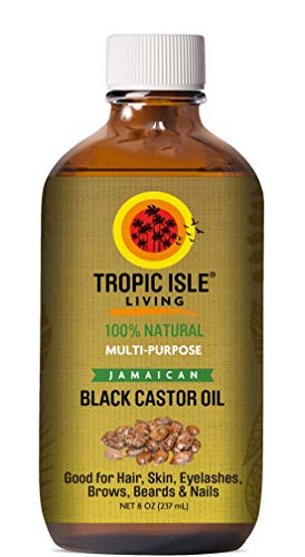 Fantastic Deal! Tropic Isle Living Jamaican Black Castor Oil PET Bottle (8 ounce)
