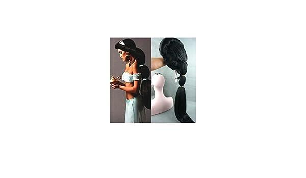 Reino de juguetes - Peluca Jasmine (Aladdín) Adulto/Niña: Amazon.es: Juguetes y juegos