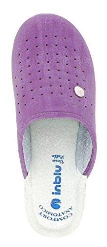 de casa 38 estar glicine violeta para Zapatillas por mujer INBLU 5wqxRTA