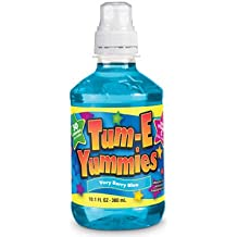 Tum-E Yummies Fruit Flavored Drink, Very Berry Blue 10 Oz (Pack of 12 Bottles)