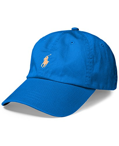 Polo Ralph Lauren Mens Twill Adjustable Ball Cap Blue O/S