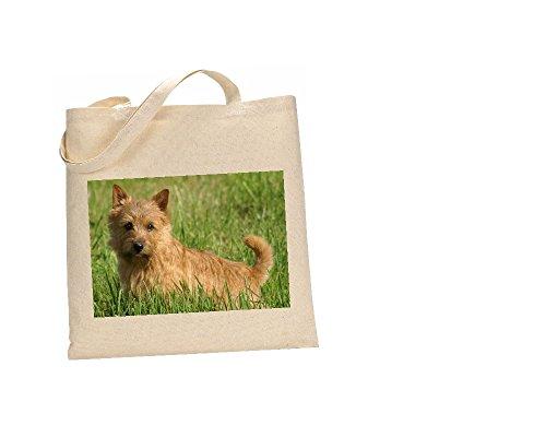 Norwich Terrier perro bolsa 100% algodón (FC) # 179
