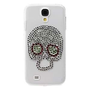 Cráneo Caso duro del patrón exquisito con Rhinestone para Samsung i9500 Galaxy S4