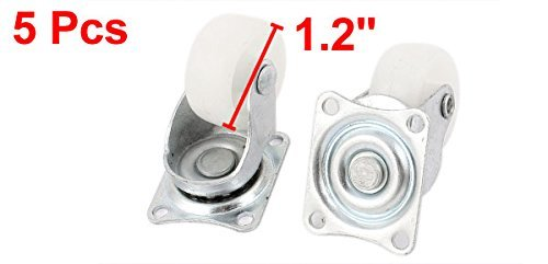 Presidente eDealMax Muebles carretilla 30mm PP rueda giratoria Placa Superior Caster 5pcs: Amazon.com: Industrial & Scientific
