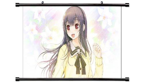 Kimi to Kanojo to Kanojo no Koi Anime Fabric Wall Scroll Poster (32 x 18) Inches. [WP]Kimi-1 (L) (Kimi No Kanojo To Kanojo No Koi)