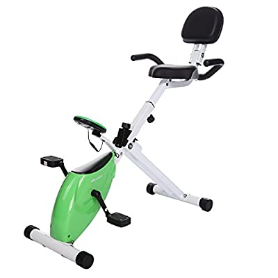 Ancheer Folding Recumbent Bike Fitness Magnetic Exercise Cycling Bike by Ancheer