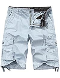 "<span class=""a-offscreen"">[Sponsored]</span>Men's Cotton Loose Fit Twill Cargo Shorts Outdoor Wear Lightweight"
