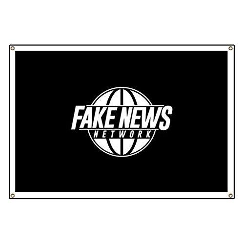 CafePress - Fake News Network - Vinyl Banner, 44