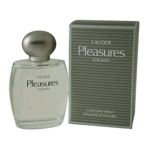 PLEASURES by Estee Lauder Men's Cologne Spray 3.4 oz - 100% Authentic - Estee Spray Cologne