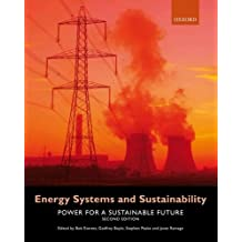 Energy Systems and Sustainability: Power for a Sustainable Future