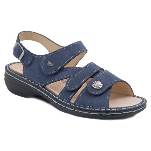 Finn Comfort Women's Gomera Ankle-Strap Sandal Lake Nubuck discount 2014 unisex eNAQPp2Fx