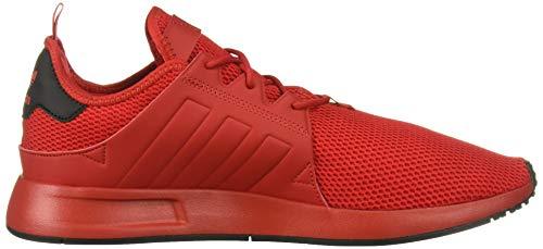 adidas Originals Men's X_PLR Running Shoe, Scarlet/Scarlet/Black, 4.5 M US