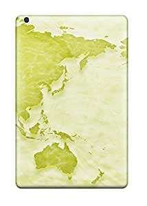 Defender Case With Nice Appearance (map ) For Ipad Mini/mini 2
