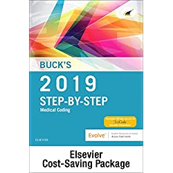 Buck's Medical Coding Online for Step-by-Step Medical Coding, 2019 Edition (Access Code and Textbook Package), 1e