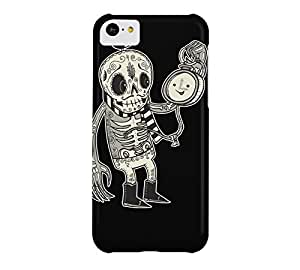 Running Out of Time iPhone 5c Black Barely There Phone Case - Design By Humans