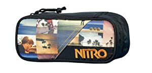 Nitro Snowboards Federmäppchen Pencil Case, California, 20  x 8  x 6 cm, 0.96...