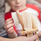 6-Piece Baby Hair Brush Set with