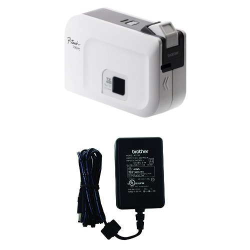 PT1230PC Labeler plus AC Adapter (Pc Connectable Labeler)