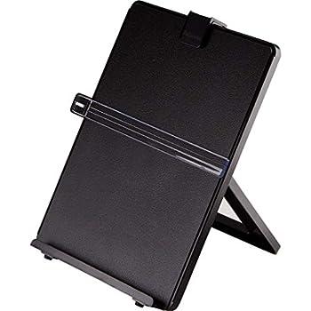 Fellowes Letter Sized Non-Magnetic Copyholder, Black (21106)