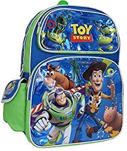 Toy Story Woody Buzz Lightyear 16 Inches Large Backpack for $<!--$20.86-->