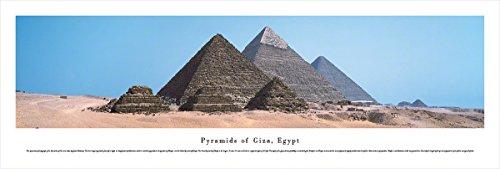 Blakeway Worldwide Panoramas Pyramids of Giza, Egypt - Blakeway Panoramas Unframed Icon Posters,